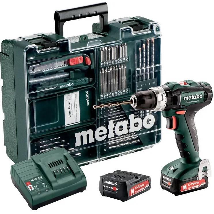 Дрель-шуруповерт METABO PowerMaxx SB 12 (601076870)