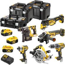 Набор инструментов DEWALT: DCD796, DCH273, DCF887, DCG405, DCS355, DCS570 (DCK685P3T)