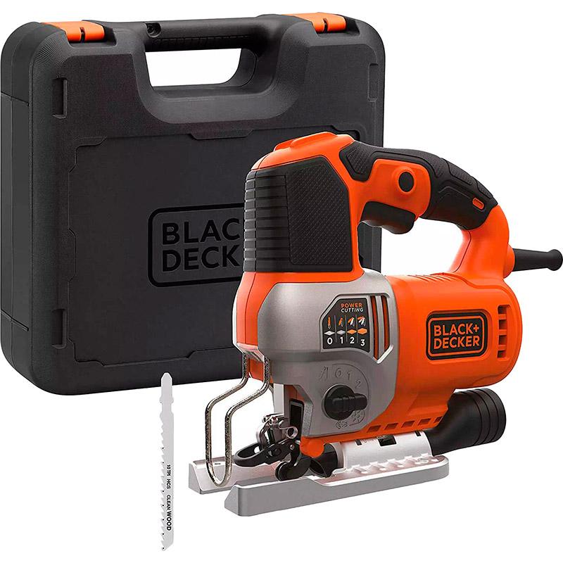 Электролобзик BLACK&DECKER BES610K Мощность 650