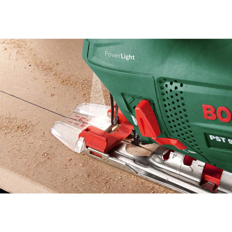 Лобзик BOSCH PST 900 PEL (CT) (06033A0220) Глубина пропила древесины 90
