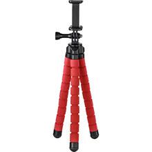 Штатив HAMA Flex 2x1 Mobile Phone Action Camera 26 см Red (4617)
