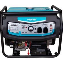 Генератор бензиновий SIGMA 6.0 / 6.5кВт 4-х тактний електрозапуск (5710491)