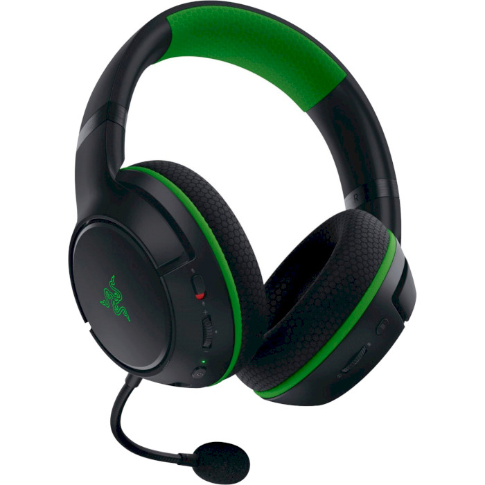 Гарнитура RAZER Kaira for Xbox WL Black (RZ04-03480100-R3M1) Крепление дуга (над головой)
