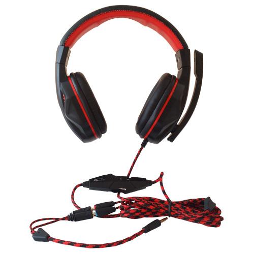 Гарнитура GEMIX W-360 Black Конструкция полноразмерные (полный обхват уха)