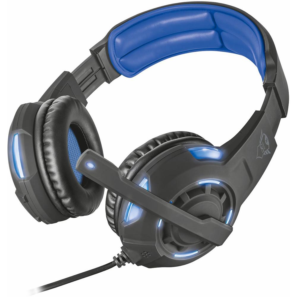 Гарнитура TRUST GXT 350 Radius 7.1 Surround headset (22052) Класс геймерская