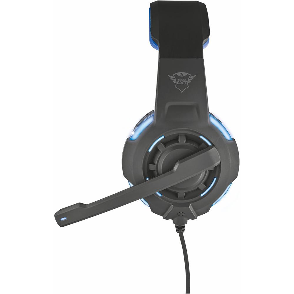 Гарнитура TRUST GXT 350 Radius 7.1 Surround headset (22052) Конструкция полноразмерные (полный обхват уха)