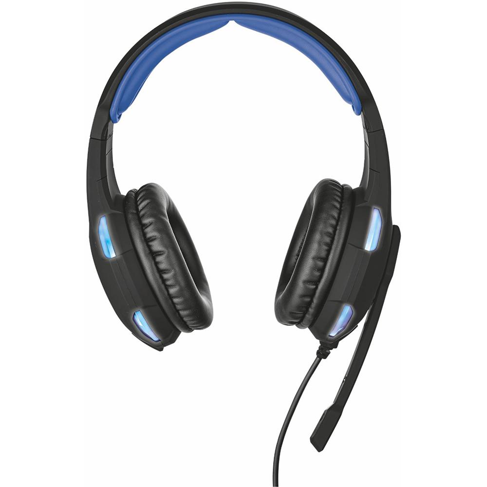 Гарнитура TRUST GXT 350 Radius 7.1 Surround headset (22052) Крепление дуга (над головой)
