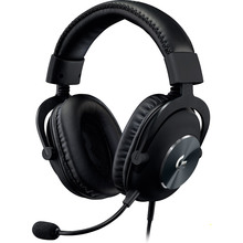 Гарнитура LOGITECH G PRO Gaming Headset Black (981-000812)
