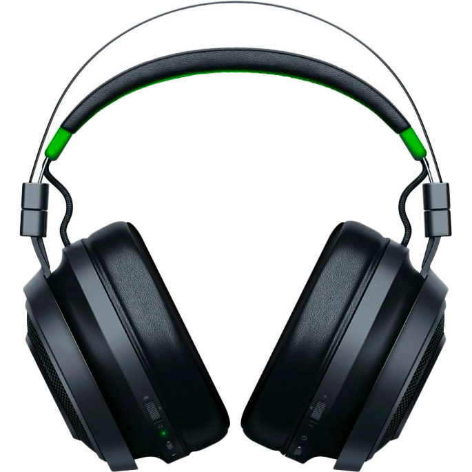 Гарнитура Razer Nari Ultimate For Xbox One Black/Green (RZ04-02910100-R3M1) Конструкция полноразмерные (полный обхват уха)
