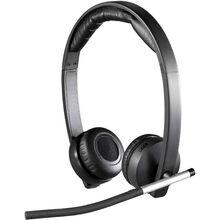 Гарнитура Logitech Wireless Stereo USB Headset H820E (981-000517)