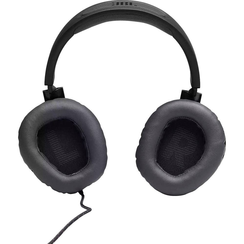 Гарнитура JBL Quantum 100 Black (JBLQUANTUM100BLK) Конструкция полноразмерные (полный обхват уха)