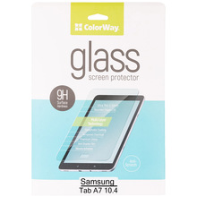 Защитное стекло COLORWAY 9H для Samsung Galaxy Tab A7 10.4 2020 SM-T500/505 (CW-GTSGT500)