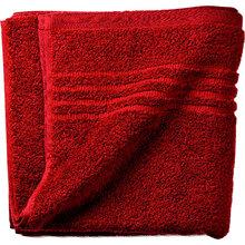 Полотенце махровое Kela Leonora 50x100 cм Красный бархат (23438)