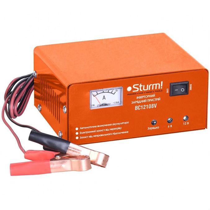 Зарядное устройство STURM 6/12 В 20-70 Ач (BC12108V)