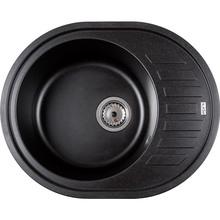 Кухонна мийка VENTOLUX Monica Black Quartz (2059765959458)