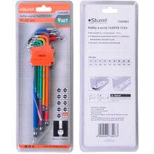 Набор ключей STURM 1340403 TAMPER TORX 90-231 мм 9 шт (1340403)