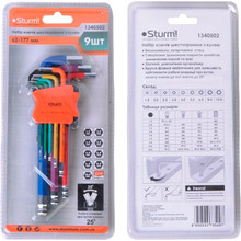 Набор ключей STURM 1340502 9 шт