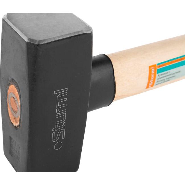 Кувалда STURM 2000 гр (1011-01-2000) Материал бойка металл