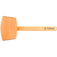 Киянка деревянная TOPEX 500 г (02A050)