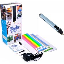 3D-ручка 3DOODLER Create - ГОЛУБОЙ МЕТАЛЛИК (50 стержней) (3DOOD-CRE-PBLUE-EU)