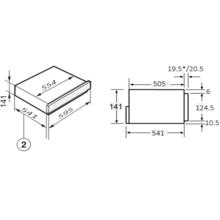 Шафа для підігрівання посуду INTERLINE JEG 760 SYD BA