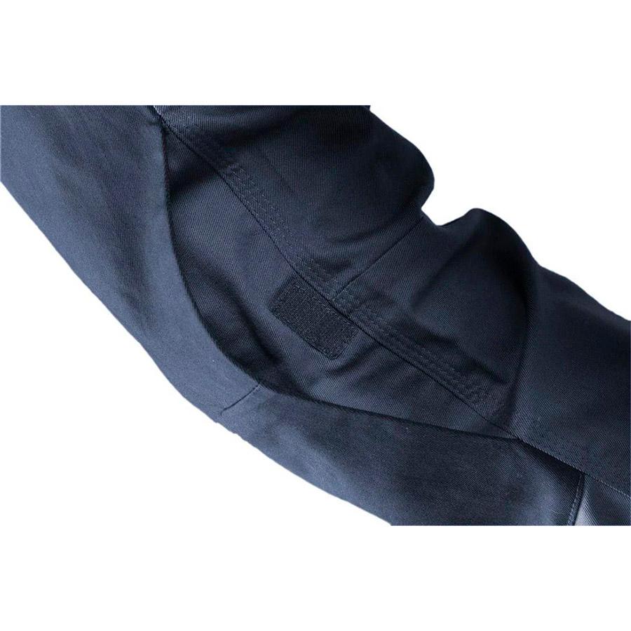 Рабочие брюки NEO TOOLS Navy L (81-224-L) Дополнительно идентификационная бирка, тройная строчка, эластичная талия, предварительно сформированные колени, усиленные колени