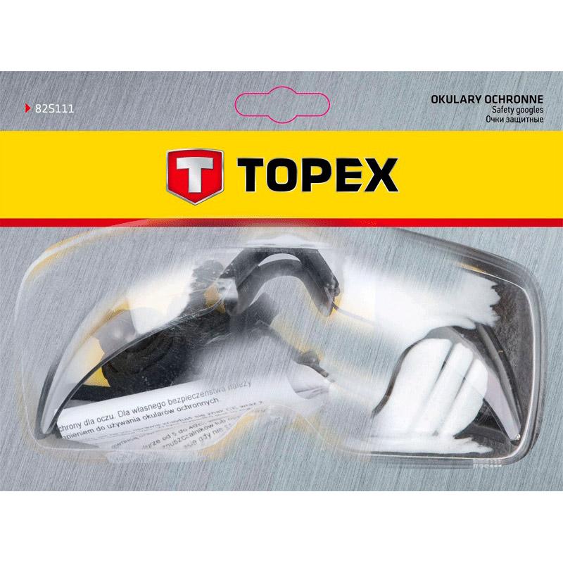 Очки TOPEX защитные (82S111) Пол универсальный