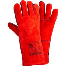 Перчатки Sigma сварщика класс АВ Красные (9449341)