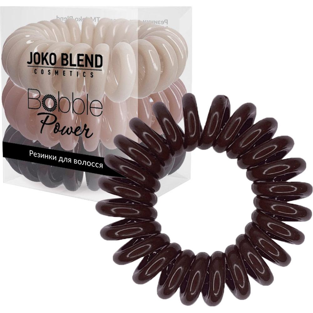 Набор резинок JOKO BLEND Power Bobble Brown Mix (834218)