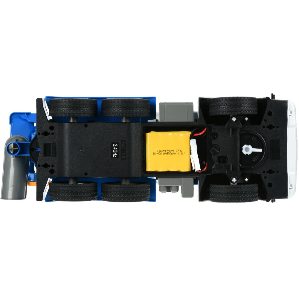 Бетономішалка SAME TOY синя (E518-003) Комплектація модель, зарядний пристрій, акумулятор, пульт управління