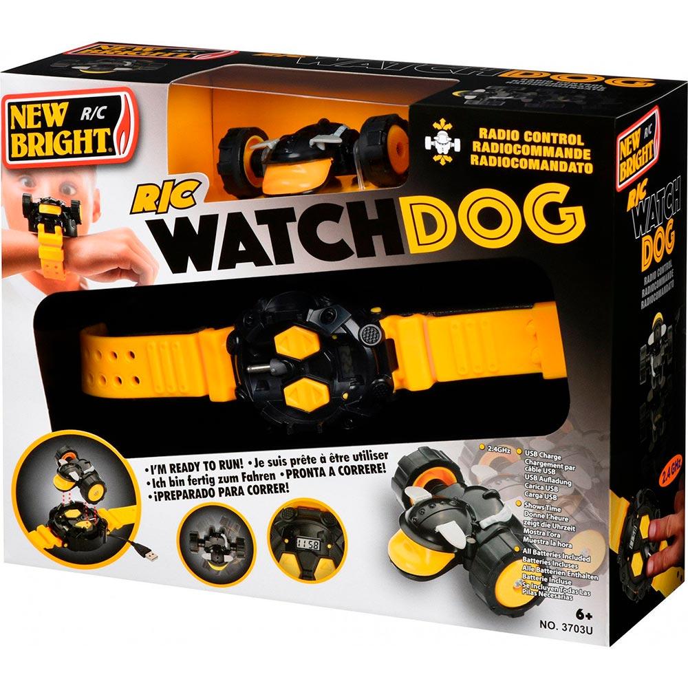 Машинка на радиоуправлении New Bright Watchdog Clock Yellow (3703U-1) Радиоуправление 2.4 ГГц
