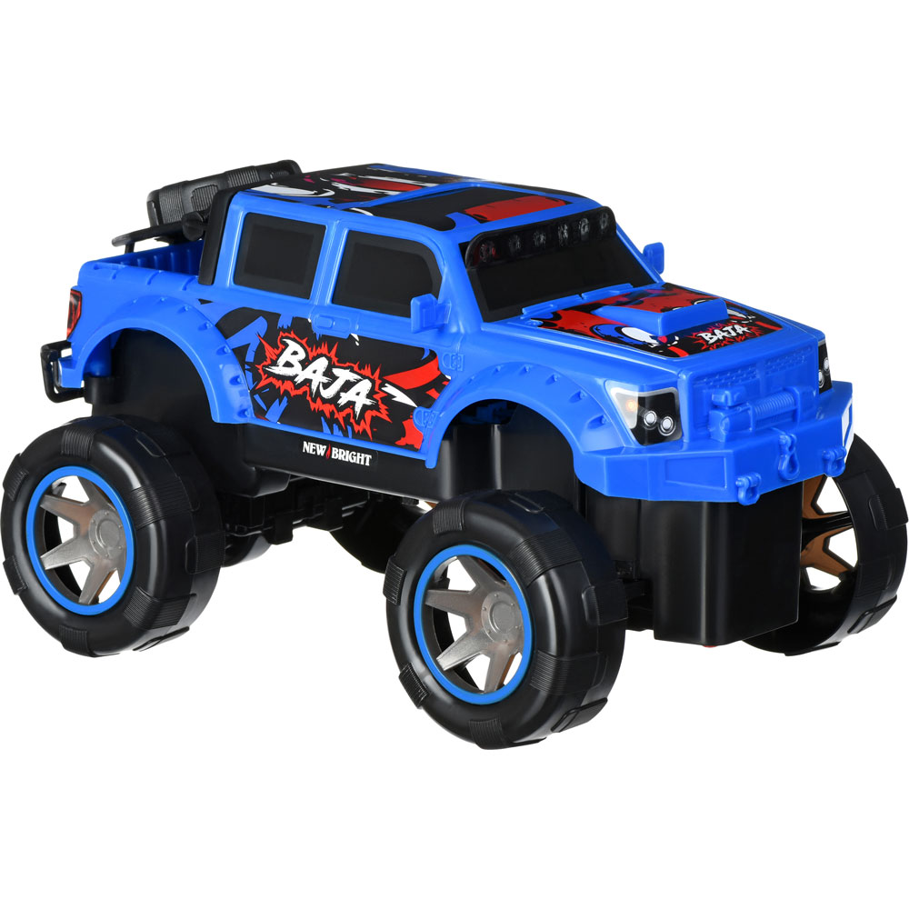 Машинка на р/у New Bright BAJA RALLY 1:18 Blue (1845) Призначення монстр (monster truck)
