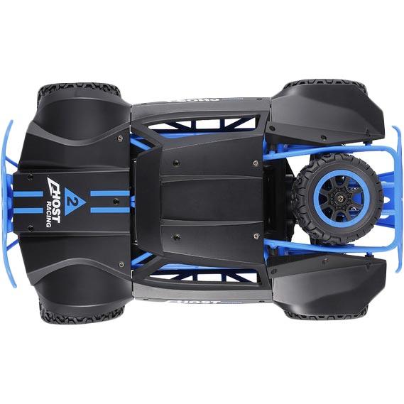 Машинка на р/к HB Toys Ралі 4WD Blue 1:18 (HB-DK1802) Комплектація машинка, пульт управління, акумулятор, батарейки АА, зарядний пристрій, інструкція