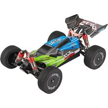 Машинка на р/у WL Toys 1:14 4WD зелёная (WL-144001G)