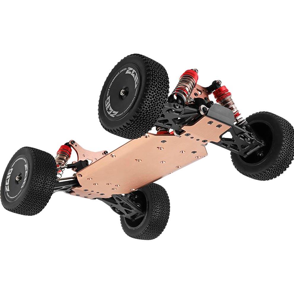 Машинка на р/у WL Toys 1:14 4WD красная (WL-144001R) Комплектация автомодель с установленным аккумулятором, зарядное устройство, пульт управления