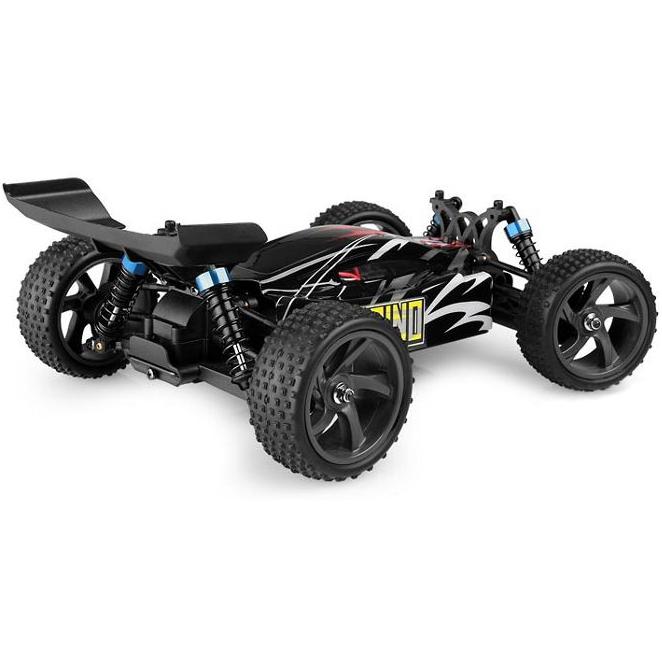 HIMOTO Багги 1:18 Spino E18XB (E18XBb) Двигатель Коллекторный, 370