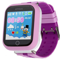 Смарт-годинник для дітей ATRIX Smart watch iQ100 Touch Pink