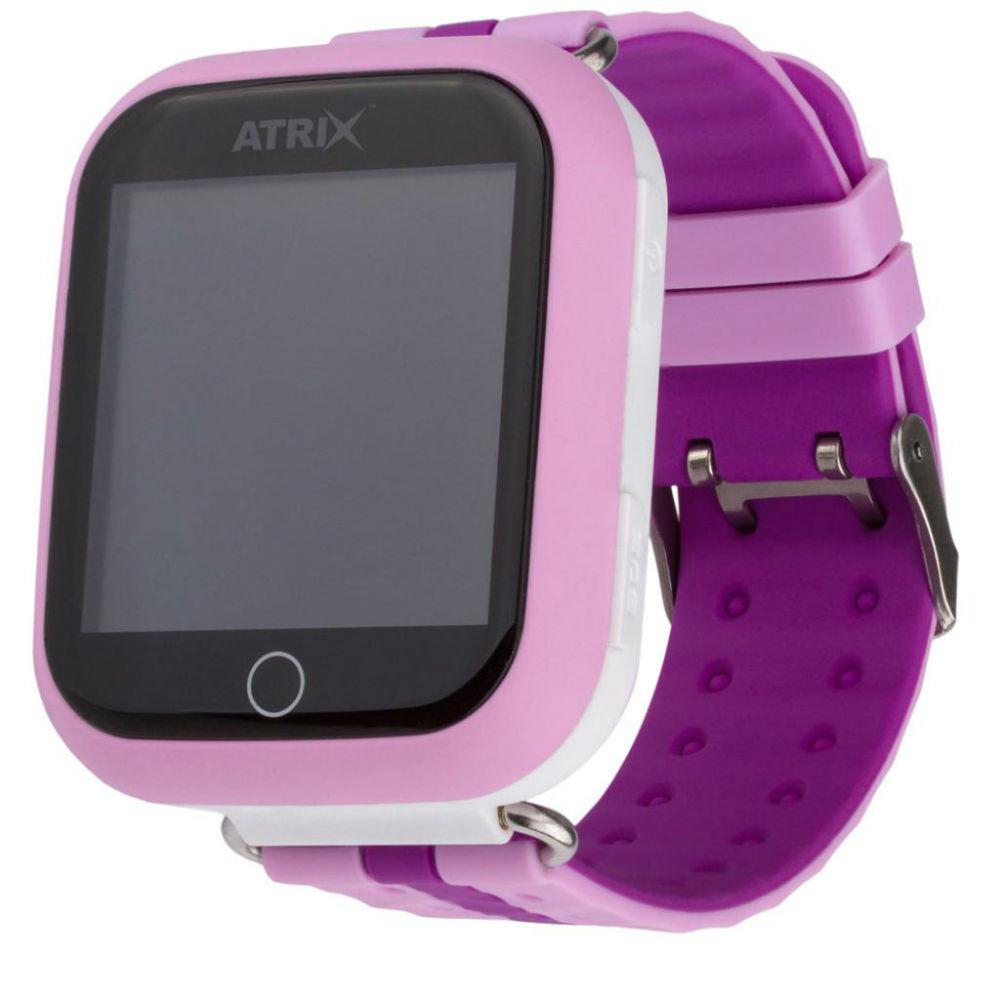 Смарт-часы для детей ATRIX Smart watch iQ100 Touch Pink Функциональность детские