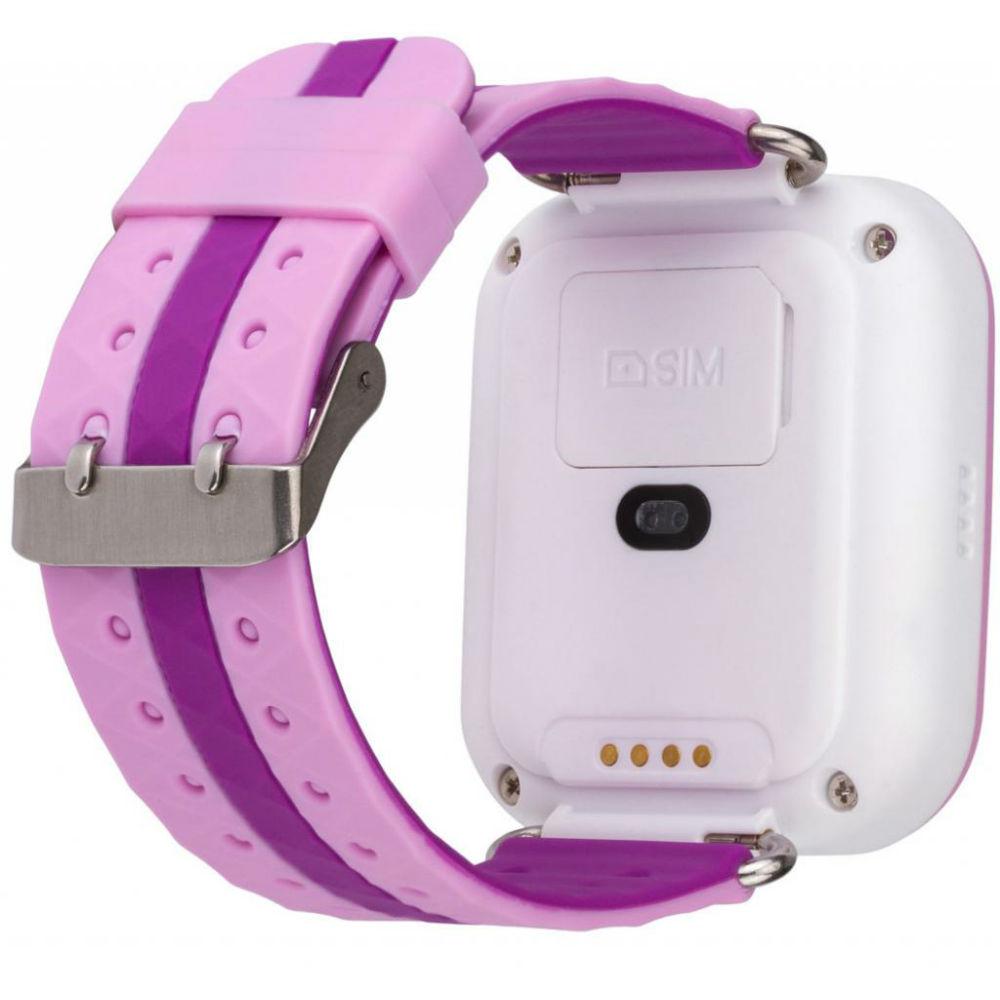 Смарт-часы для детей ATRIX Smart watch iQ100 Touch Pink Операционная система другая