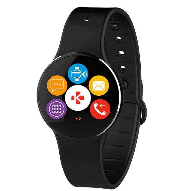 Смарт-часы MYKRONOZ ZeCircle2 черный/черный