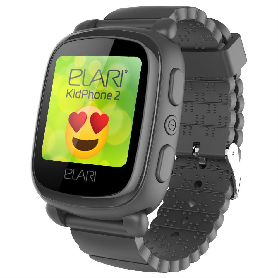 Смарт-годинник ELARI KidPhone 2 Black (KP-2B) Функціональність дитячі
