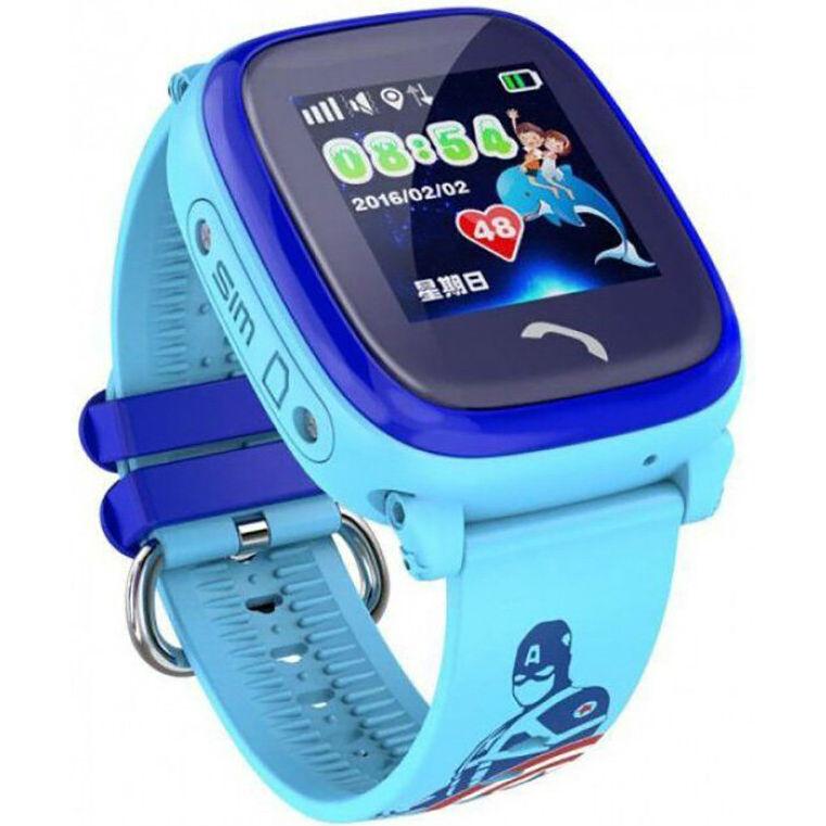 Смарт-часы GOGPS ME K25 Синий (K25BL) Функциональность детские