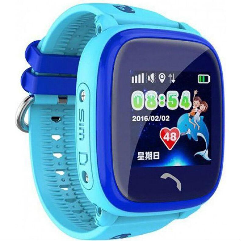 Смарт-часы GOGPS ME K25 Синий (K25BL) Совместимость Android OS