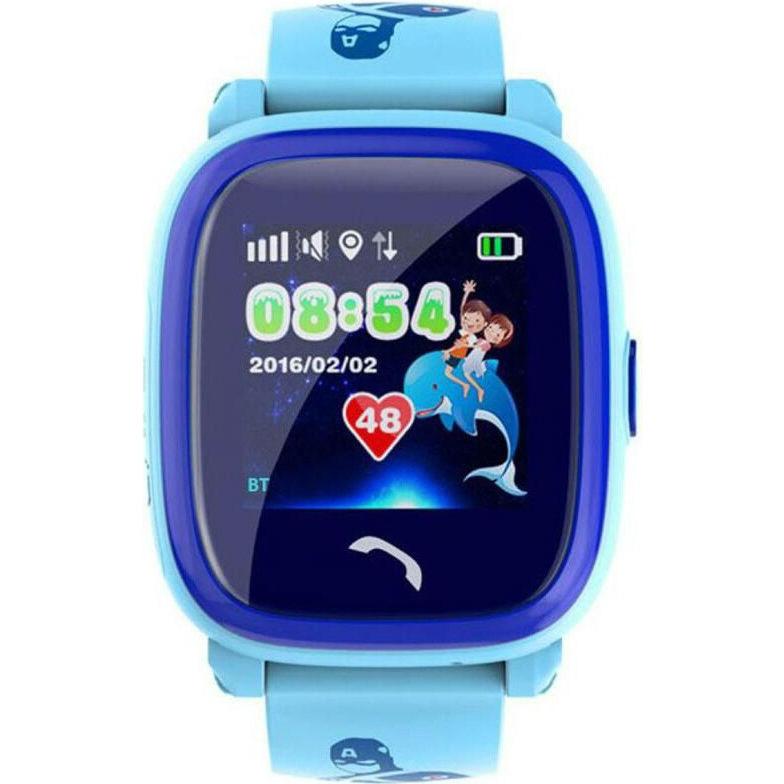 Смарт-часы GOGPS ME K25 Синий (K25BL) Совместимость iOS (Apple)