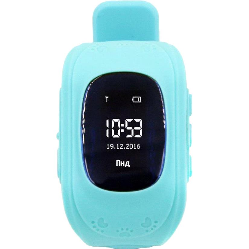 Смарт-годинник GOGPS ME K50 Бірюзовий (K50TR) Функціональність дитячі