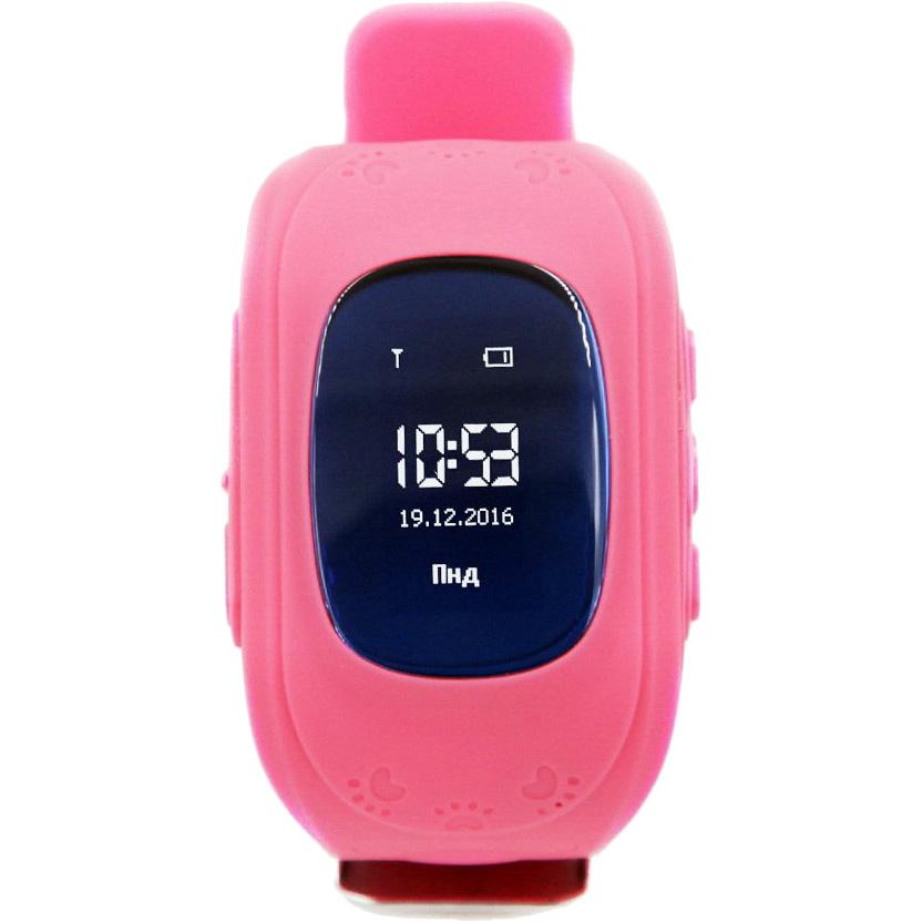 Смарт-часы GOGPS ME K50 Розовый (K50PK) Функциональность детские