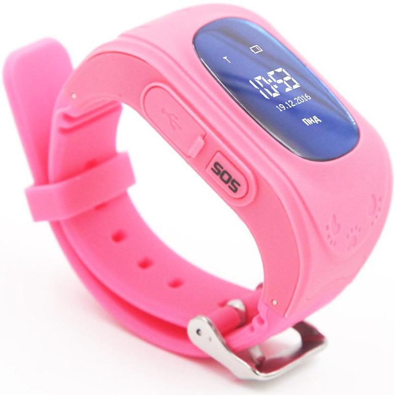 Смарт-часы GOGPS ME K50 Розовый (K50PK) Совместимость Android OS
