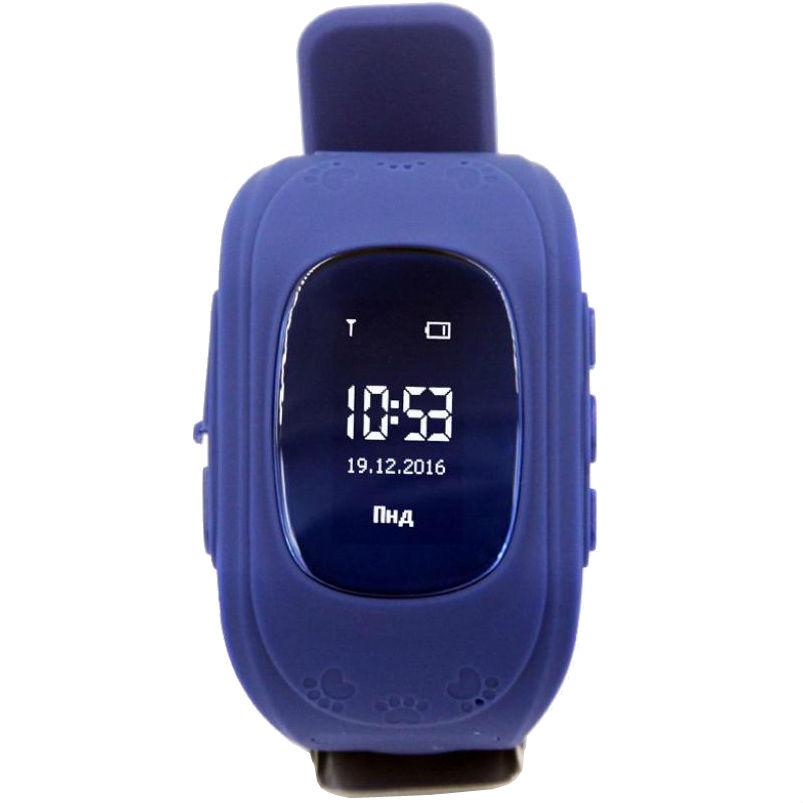 Смарт-часы GOGPS ME K50 Темно синий (K50DBL) Функциональность детские