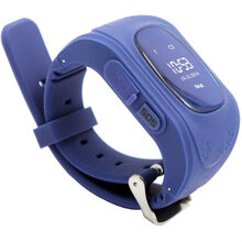 Смарт-часы GOGPS ME K50 Темно синий (K50DBL)