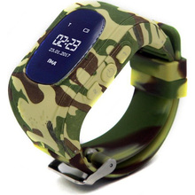 Смарт-годинник GOGPS ME K50 Хакі (K50KK)